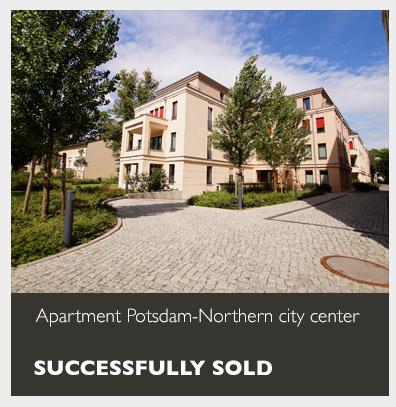 Apartment Potsdam-Northern city center