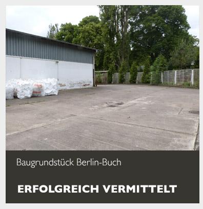 Baugrundstück Berlin-Buch