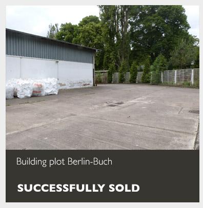 Building plot Berlin-Buch