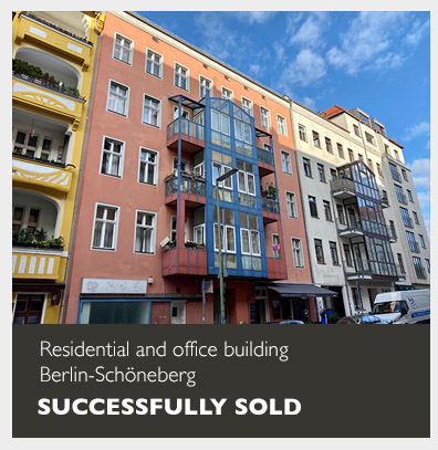 Residential and office building-Berlin-Schöneberg